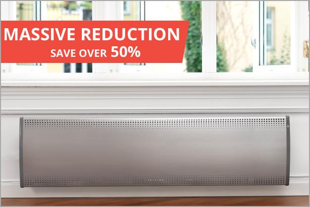 Inox Designer Radiant Panel Heater