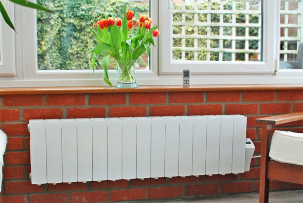 Richmond Low-level Electric Radiator