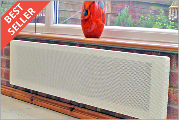 Conservatory heating spring offers energy efficient heaters for Electric radiant heat efficiency