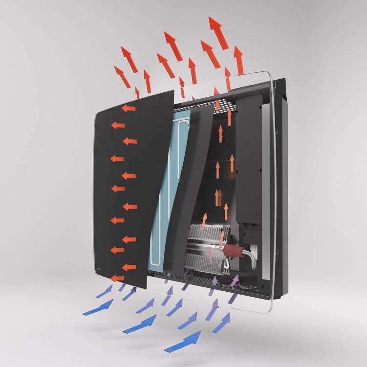 Vitro Designer Heater - Cutaway
