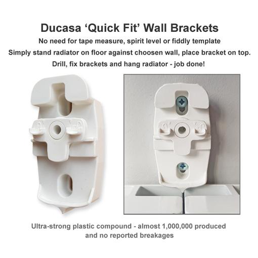 Quick Fix Electric Radiator Brackets